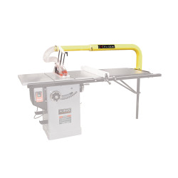 King Canada XL-1014 - Overarm blade cover system with dust collector