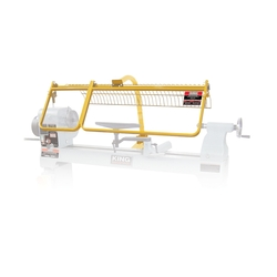 King Canada KWL-160G - Safety guard for wood lathe