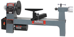 King Canada KWL-813VS - 8'' x 13'' Variable speed wood lathe