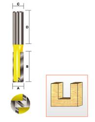 "Kempston -   Straight Bit w/Bottom Cutter, 1"" x 1-1/4"" - 106485"