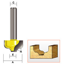 "Kempston -   Ogee Bit, 3/4"" x 7/16"" - 210431"