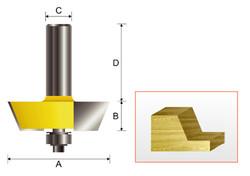 Kempston -   Raised Panel Bit, Shaker Style - 342411