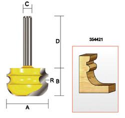 "Kempston -   Multi-Molding Bit, 3/32""  Radius - 354421"