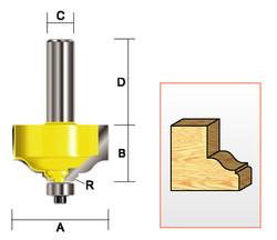 """Kempston -   Specialty Molding Bit, 1-3/4"""" x 1"""" - 359481"""