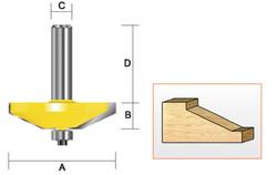 """Kempston -   Panel Raiser - 25° Straight, 3-1/2"""" x 3/4"""" - 405441"""