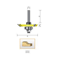 Kempston -   Back Cutter, 45D - 407021