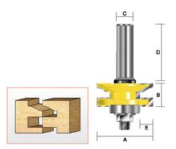 Kempston -   Reversible Rail & Stile Cutter, Roman Ogee - 409011