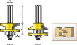 Kempston -   Miniature Matched Rail & Stile Set - Traditional Ogee - 409476