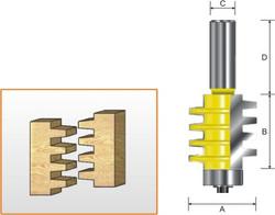 Kempston -   Economy Finger Joint Bit - 601411
