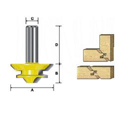 "Kempston -   45° Lock Mitre Bit, 1-3/16"" Cutting Length - 603431"