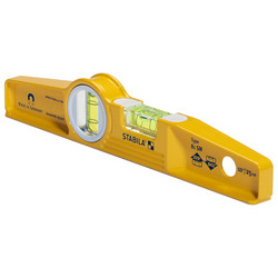 "Stabila 25100 - Model 81Sm 10"" Die Cast Magnetic Torpedo Level"