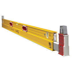 Stabila 35610 - 6' - 10' Plate Level (W/Removable Stand-Offs)