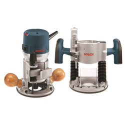 Bosch -  2.25 HP VS Router Combo Kit - 1617EVSPK