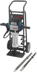 Bosch -  1-1/8 Hex Brute™ Turbo Breaker Hammer Deluxe Kit - BH2770VCD
