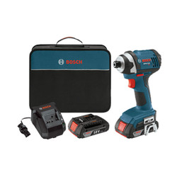 "Bosch -  18V 1/4"" Hex Compact Tough™ Impact Driver - IDS181-02"
