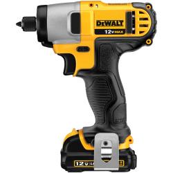 "DeWALT -  12V MAX* 1/4"" Impact Driver Kit - DCF815S2"