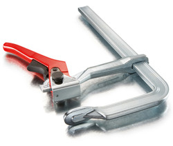 Bessey LC4 - Clamp, welding, lever-style, 4 In. x 2 3/8 In., 400 lb
