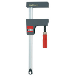 """Bessey UK3.024 - Clamp, woodworking, small case clamp, UniKlamp, 3.125"""" x 24 In., 330 lb"""