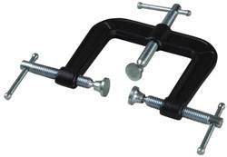 Bessey B-EC3 - Clamp, woodworking, three way edge clamp, 2.5 In. x 2.5 In., 300 lb