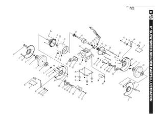 KEY#12 BGSS801012 Eyeshield pressing plate assy.