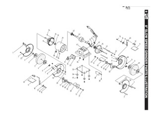 KEY#13 BGSS801013 Fixing plate