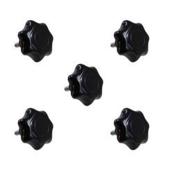 7-Star Stud knob 3/8-16, 5 PK