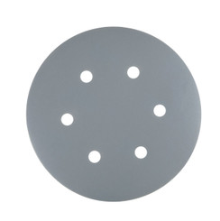 4D14600 6-Inch A/O Hook and Loop / Back Film 6 Hole Disc, Assortment Grits 40, 80, 100, 120, 180, 220, 320, 400, 600 and 800, Grey, 100-Pack