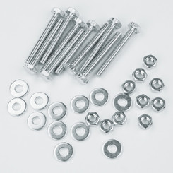 "71154 1/4""-20 x 2"" Hex Bolt Kit, including Hex Nut and Flat Washer, 10 Sets"
