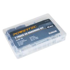 """71174 T-Track Jig Hardware Kit, 5/16/""""-18, 46 pcs"""