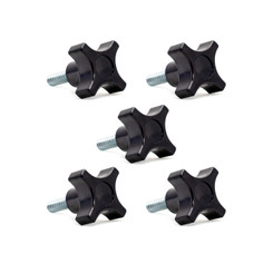 4-Point Stud Knob, 5PK (see more choices)