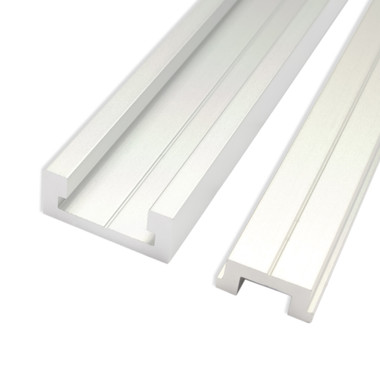71156 Aluminum Miter T Track With Miter T Bar 48 Inch