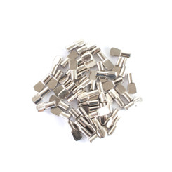 5mm Shelf Pegs | Nickel Plated Spoon Shelf Supports – Shelving Pins for your Shelving & Cabinetry Projects | Closet Pegs metal | Great Shelf Hardware Value (See More Choices)