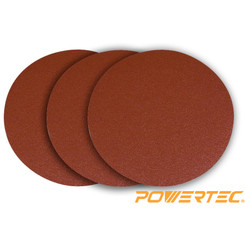 110403DIS 11-3/4-Inch PSA 150 Grit Aluminum Oxide Adhesive Sanding Disc, 3-Pack