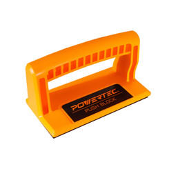71339 Deluxe Push Block | Ergonomic Handle with Max Grip | Pushblock for Table Saw, Jointers and Woodworking