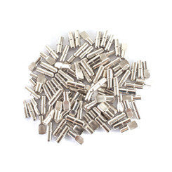 """QP1108 Cylindrical Shaped & Spoon Shaped Shelf Pins 1/4"""" 