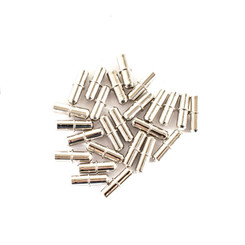 Cylindrical Shaped Shelf Pins 1/4-Inch | Nickle Plated | – Cabinet Pins for Shelves and I Shape Shelf Hole Support | Woodworking Tools Collection (see more choices)