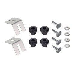 "71335 Multi Track Brackets and Clamping Knob Hardware Kit with 1/4"" - 20 T-Track Bolts 