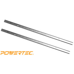 128024 13-Inch HSS Planer Knives for POWERTEC PL1300 Set of 2
