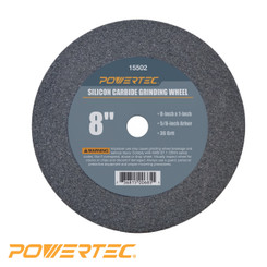 Silicon Carbide Grinding Wheel, 8-Inch by 1-Inch, 5/8-Inch Arbor (see more choices)