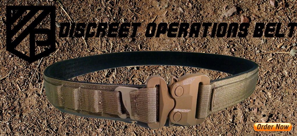 Discreet Operations Belt