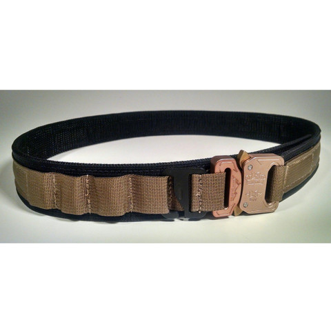 Discreet Operations Belt - IWB, Coyote Brown on black
