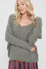 The Sami Sweater- Olive