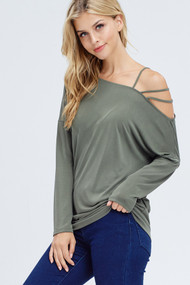 The Mia Top- Olive