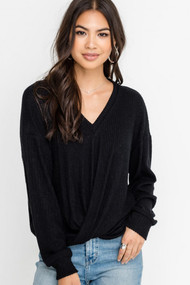 The Brittany Top- Black