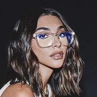 The Quay Australia Hardwire Blue Light Glasses- Clear