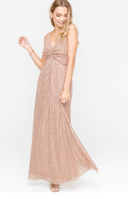 The Paisley Dress- Rose Gold