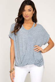 The Dallas Top- Grey