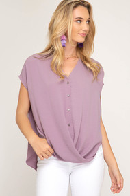 The Miley Top- Light Purple