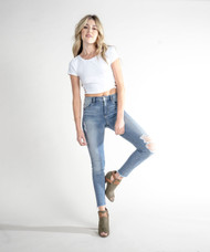STS Blue Ellie High Rise Step Hem Jeans