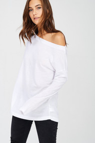 The Lindsay Top- White